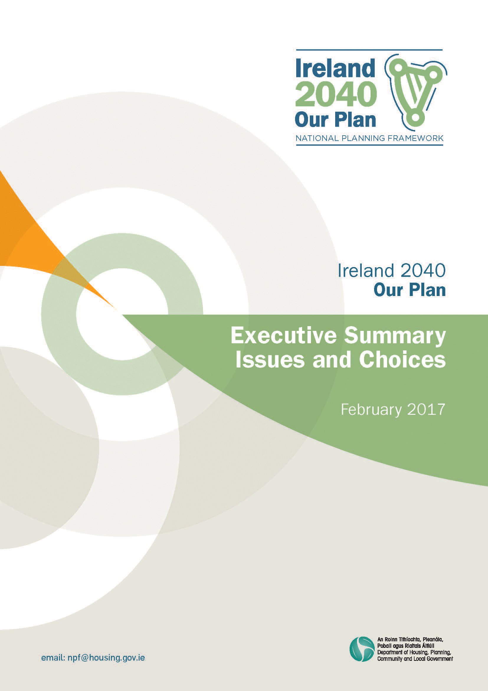 Executive Summary Ireland 2040 Our Plan