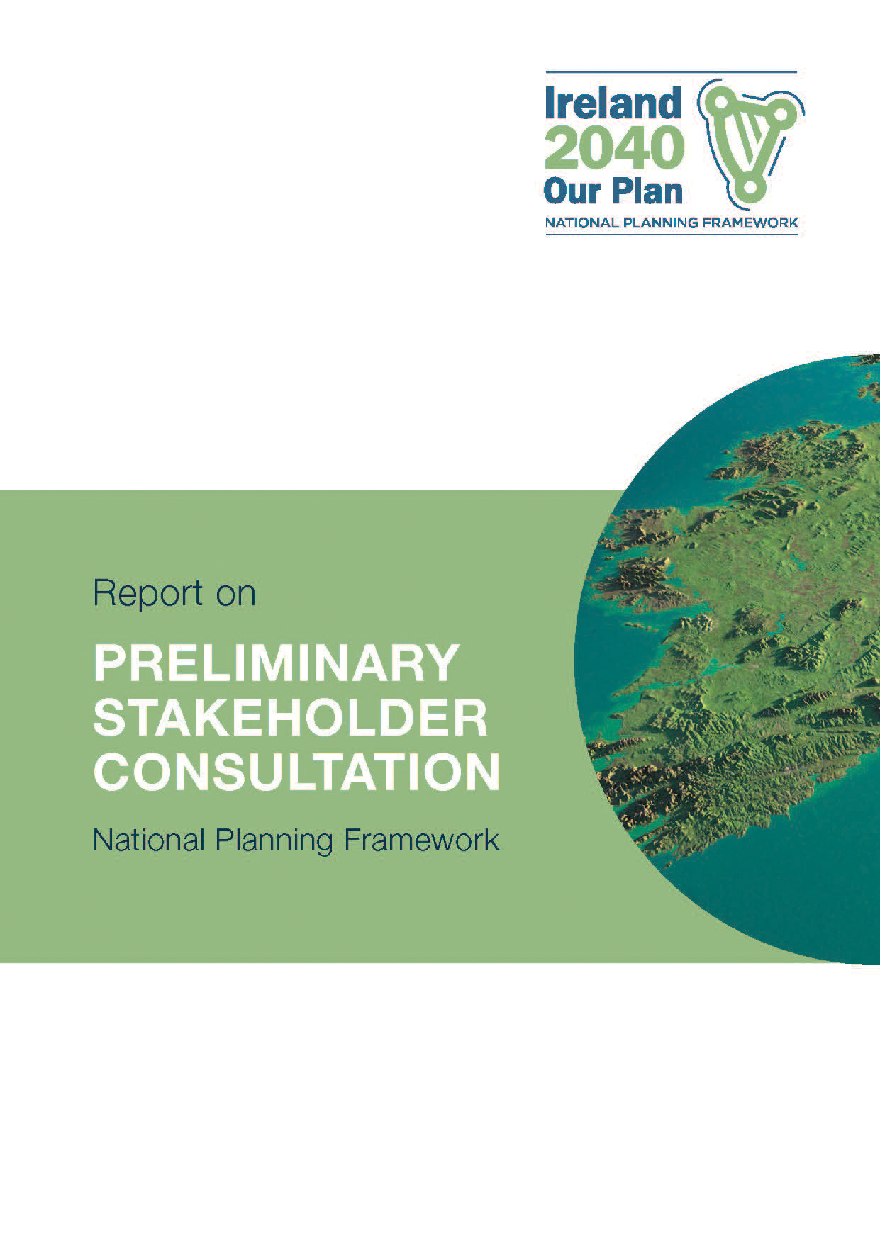 Report on Preliminary Stakeholder Consultation COVER