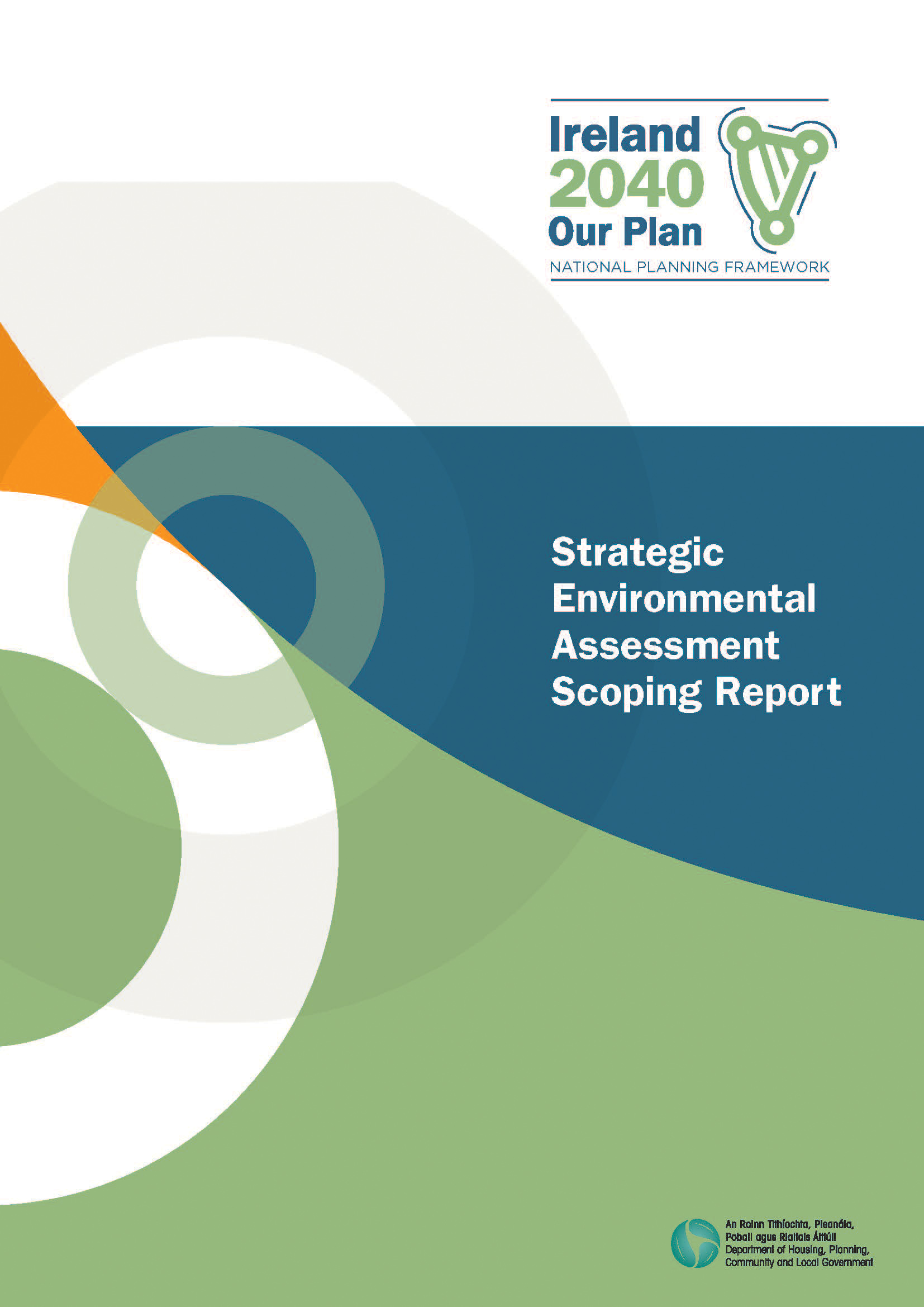 Strategic Environmental Assessment Scoping Report COVER